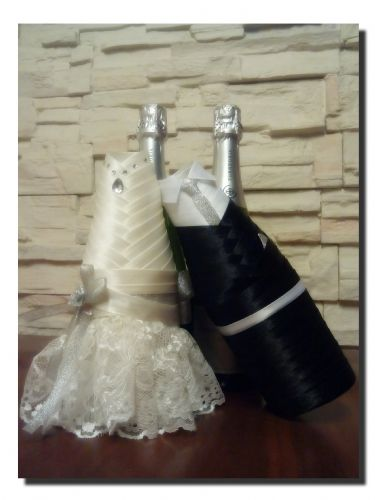 Funda Botellas Cava Novios